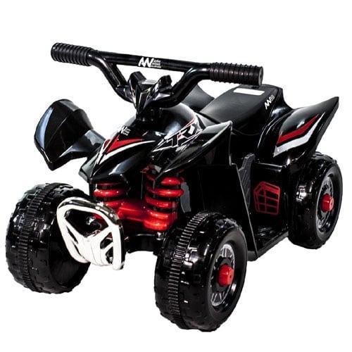 Mini Electric Quad Bike 6 Volt Boys ATV Style Black