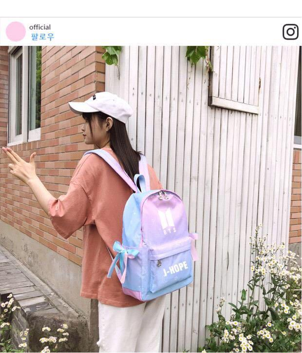 P.O. Blackpink BTS Stray Kids Twice unicorn galaxy backpack