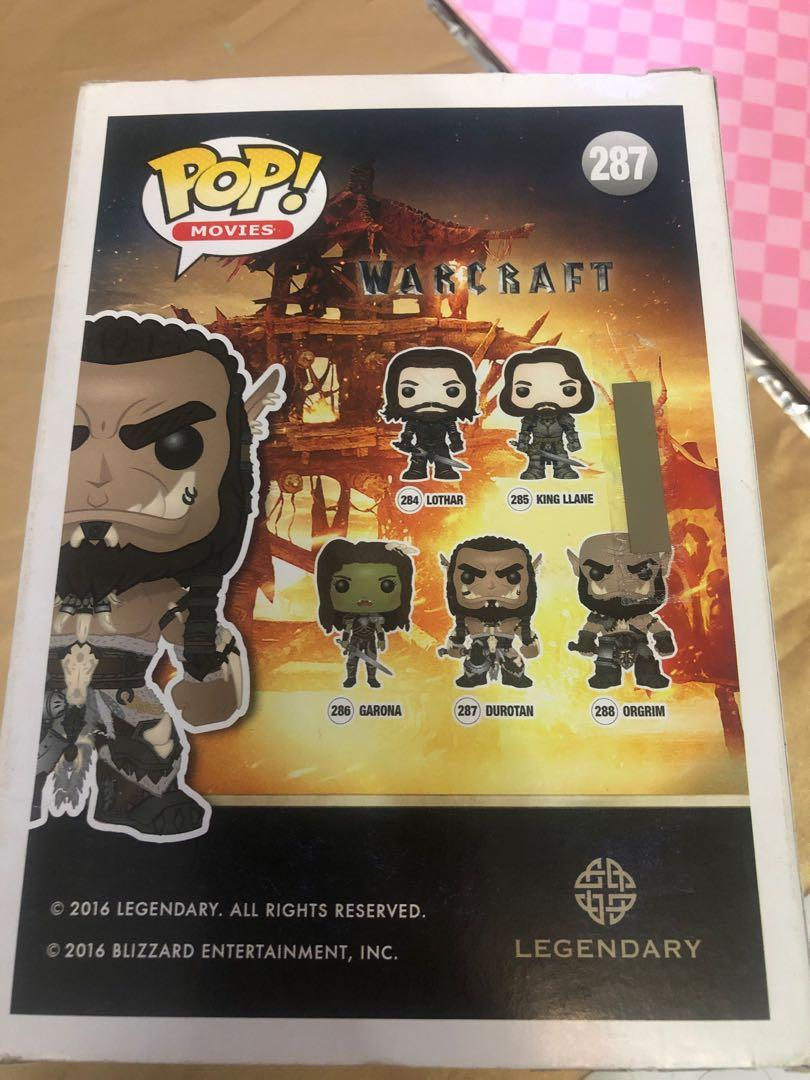 Funko POP 287 Durotan  - Warcraft
