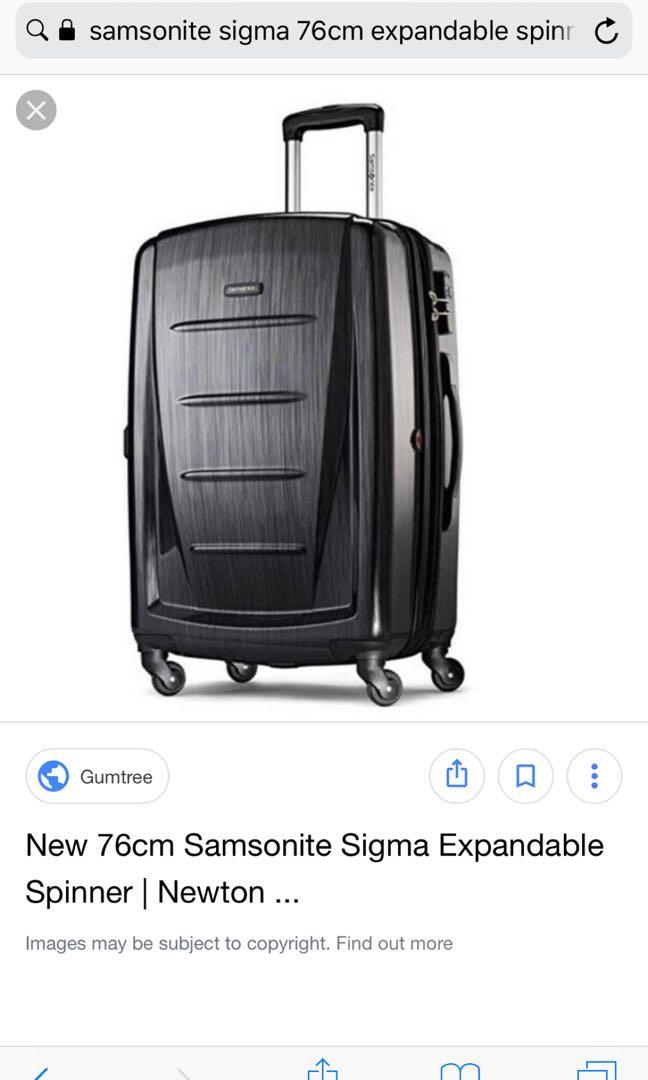 Samsonite Sigma Spinner 76/28 expandable