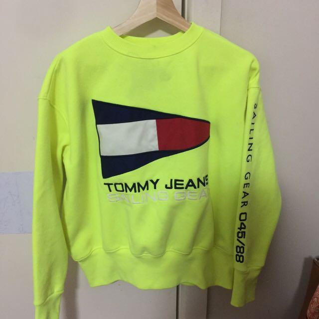 TOMMY HILFIGER SWEATSHIRT TOMMY JEANS SIZE XS #swapAU