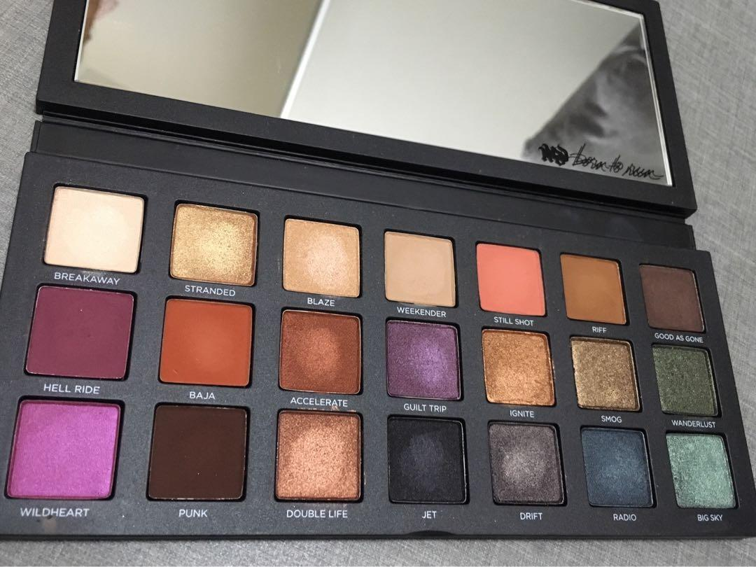 urban decay born to run palette