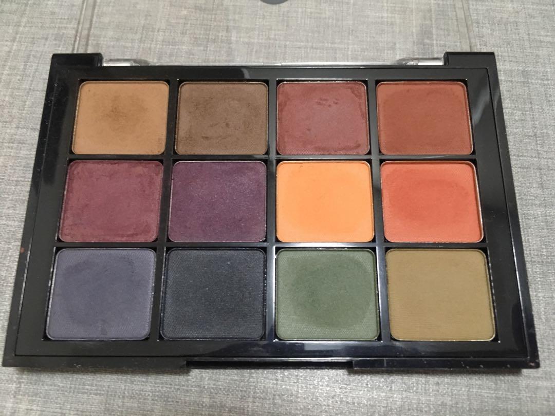 Viseart #4 dark matte palette
