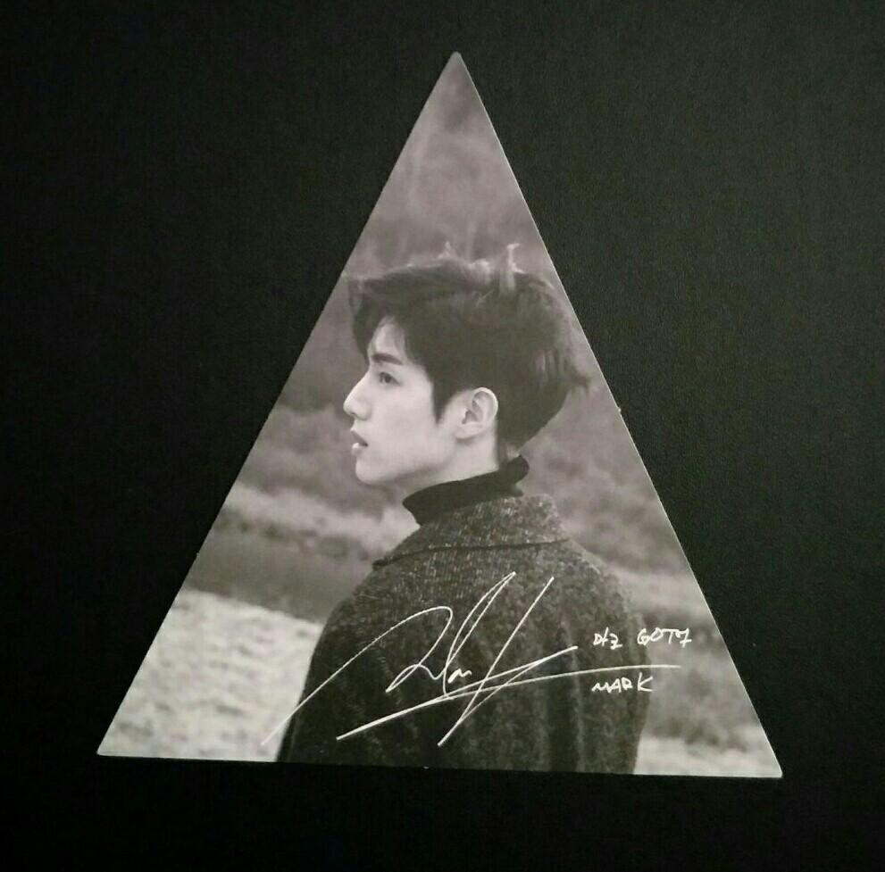 [WTB/LF] GOT7 7 For 7 Present Edition Mark 2nd Press Triangle