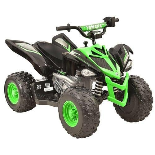 Yamaha 12 Volt Electric Raptor Quad Bike ATV Green