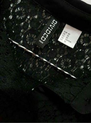 Hnm long black shirt