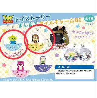 玩具總動員水晶球吊飾 新品 三眼怪 彈簧狗