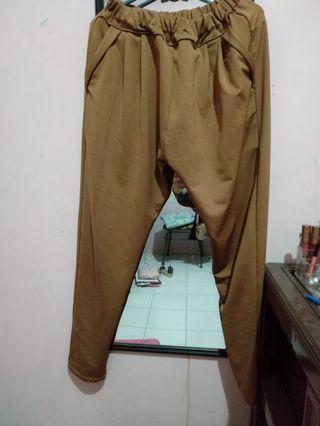 Celana Coklat stretch