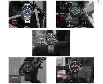 New Seiko 5 watches