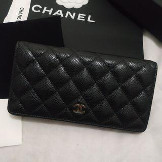 Chanel Wallet - Dompet Chanel - Hitam