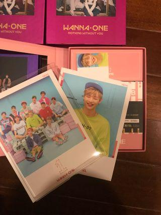 Wanna One To Be One Pink Ver.