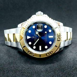 PREOWNED ROLEX YACHT-MASTER, 16623, ROLESOR, 18Ct Yellow Gold and Oystersteel, 40mm, D Series @ Year 2005 Mens