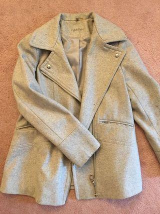 Calvin Klein Grey Coat