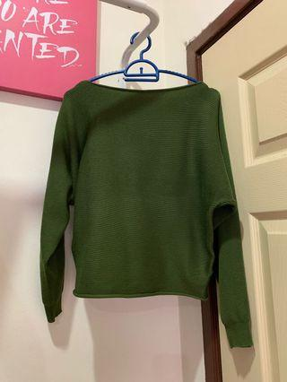 ARMY GREEN TOP (NEW)