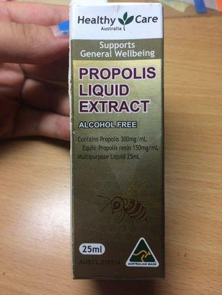 澳洲必買 澳洲 Healthy Care propolis liquid extract 蜂膠滴液劑 25ml