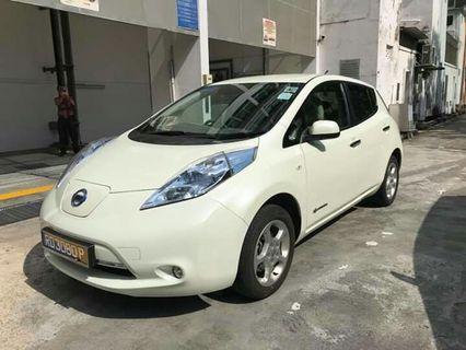 NISSAN LEAF FULLY ELECTRIC CAR