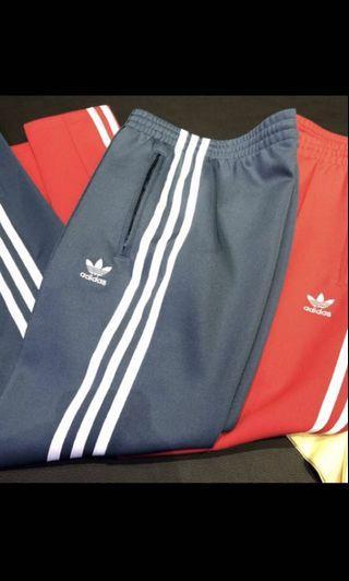 Adidas湖水綠運動褲