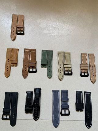 Clearance Watch Straps 22m to 26mm