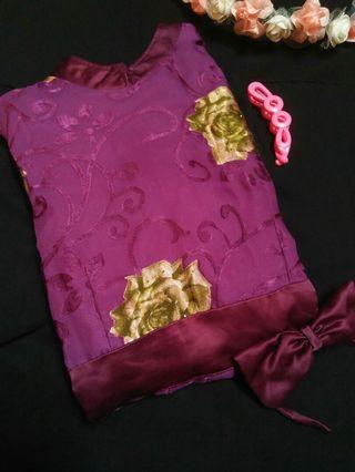 Gamis ungu