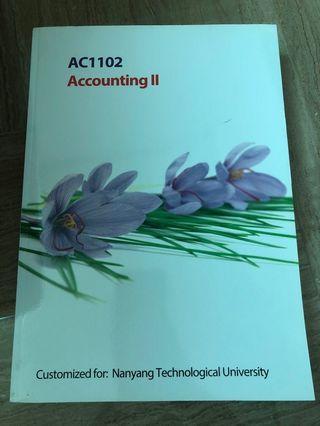 AC1102 Accounting 2 NTU NBS