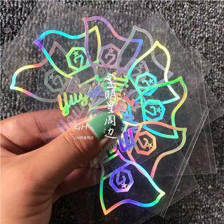 [ PREORDER] Got7 holo stickers