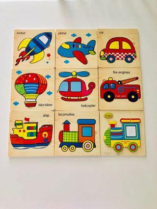 3D Wooden Puzzles good quality