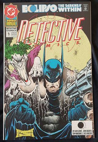 detective comics annual #5 dc comics  comic comicbook