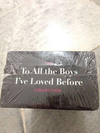 To All The Boys I Loved Before Hardcover Set