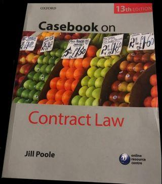Jill Poole casebook on Contract Law