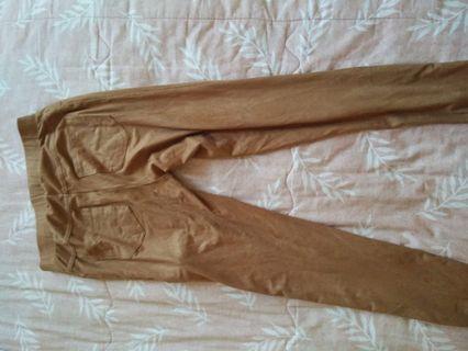 Legging stadivarius coklat muda