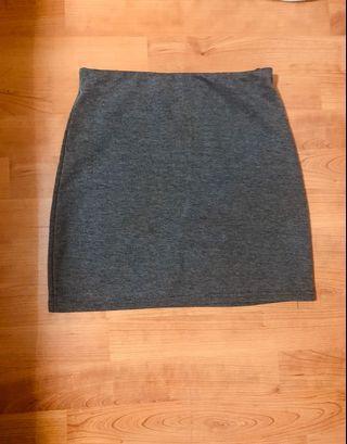 🚚 Dark grey bandage skirt