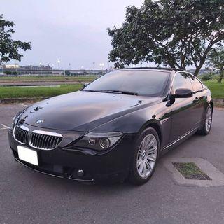 寶馬BMW 650i 4.8L 市場稀有2門4座 雙門跑車 中古車 二手車 代步車  零頭款 全額貸 車況好 私下分期