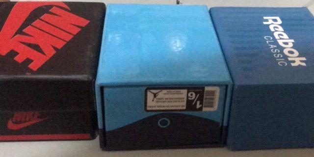 小鞋盒 仿真 造型 球鞋 鑰匙圈 NIKE 喬丹 Reebok 三個不拆售