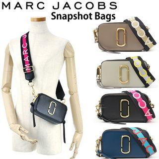 100% Authentic Marc Jacobs Logo Strap Snapshot Small Camera Cross Body Bag