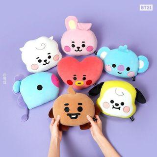 Pre Order BT21 Baby Face Cushion Pillow