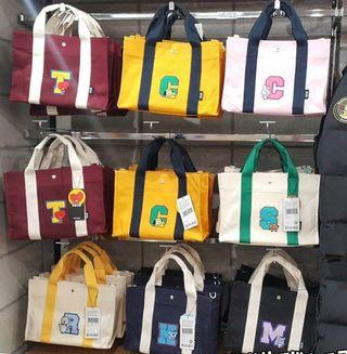 Pre Order BT21 Canvas Cross Body Bag