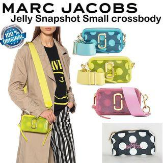 2019 New Arrival 100% Authentic Marc Jacobs Jelly Snapshot Small Crossbody Bag