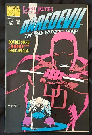daredevil #300 man without fear marvel comics comic comicbook