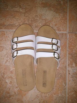 Sandal Stripe White