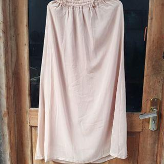 Long Skirt cream
