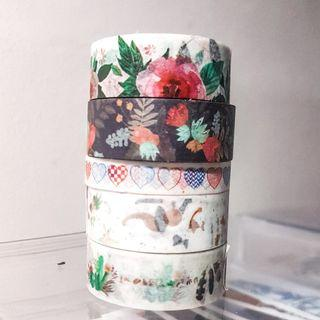 Washi Tapes aesthetic, cheap and pretty