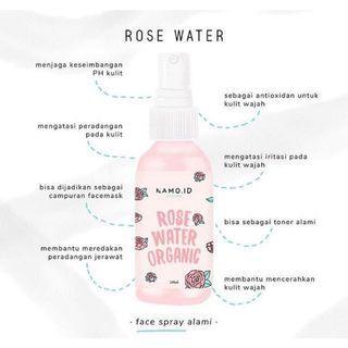 Rose Water Beauty Water Air Mawar Masker Wajah Namo ID