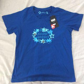 AIRWALK Christa Shine Bright Ladies T-shirt - Blue