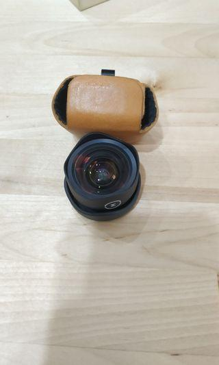 Moment lens wide with iphoneX case