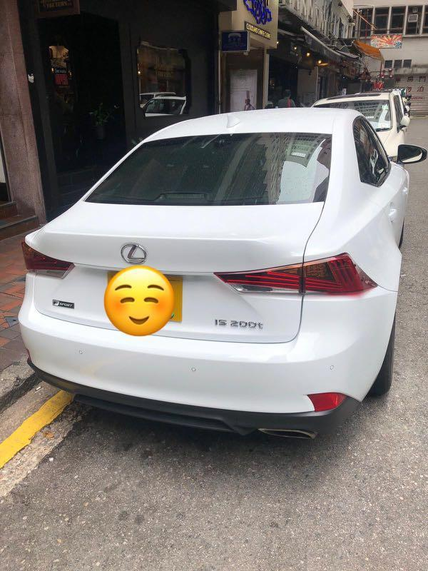 2017 LEXUS IS200T F SPORT