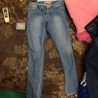 celana panjang jeans dual wanita