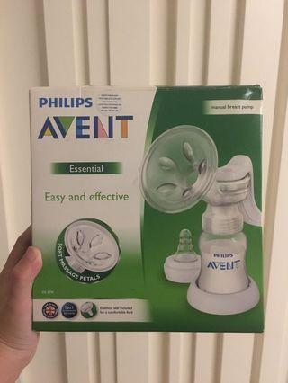 Brand New Phillips Avent Manual Breast Pump