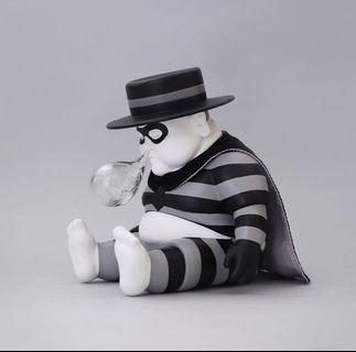 黑白版本 漢堡神偷 Thief Chunk  全新未拆封