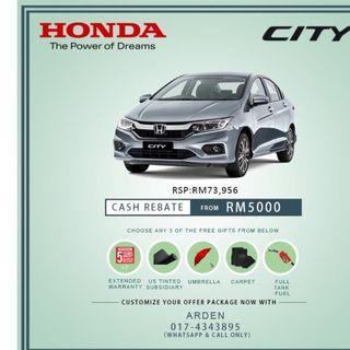 New Honda Car Flash Deal