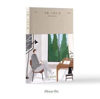 """EXO CHEN Mini Solo Album """"April, and a Flower"""